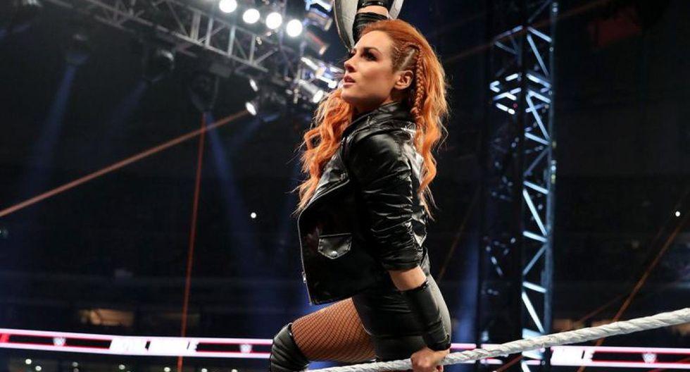 """Becky Lynch sobre pelear sin público en WrestleMania 36: """"Hay que cambiar por completo tu mentalidad ante esta situación"""". (WWE)"""