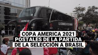 Copa américa 2021: La selección peruana viaja a Brasil