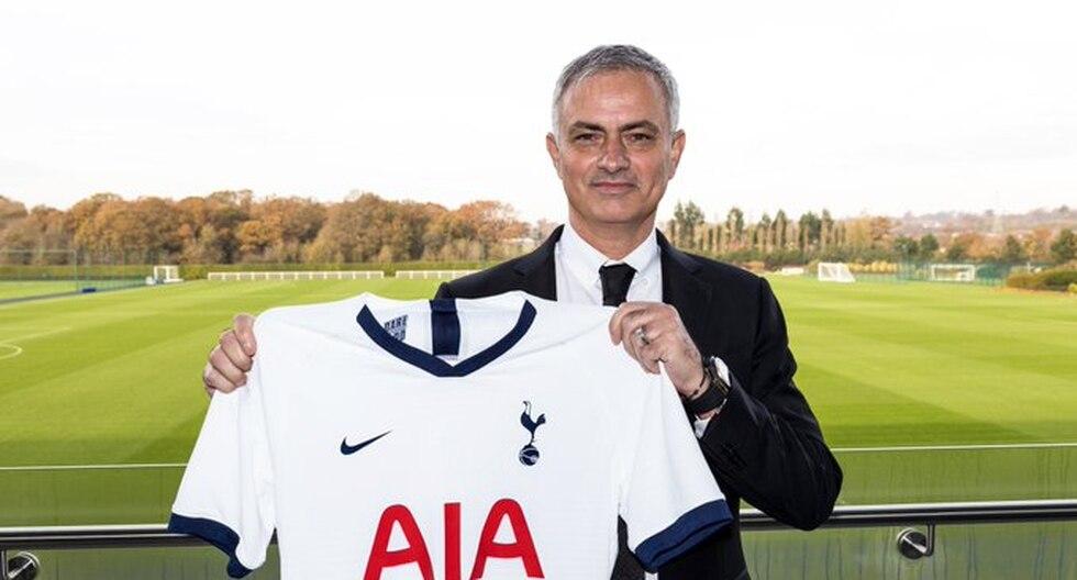 José Mourinho es nuevo entrenador del Tottenham hasta el 2022-23. (@Spurs)