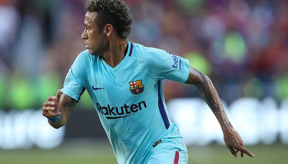 Neymar pasó del Barcelona al Santos en 2013. (Getty)
