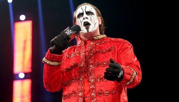 Sting debutó en la WWE en 2014. (Foto: WWE)