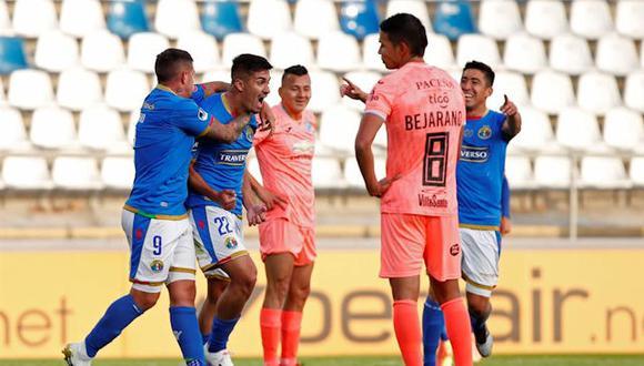 Audax Italiano tomó ventaja en la serie ante Bolivar por la segunda fase de la Copa Sudamericana.