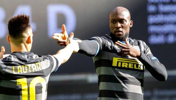 Romelu Lukaku se coronó campeón en Italia con el Inter el último fin de semana. (Foto: AP)