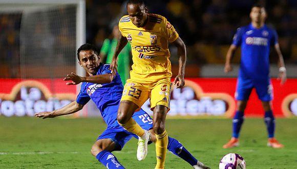 Tigres y Cruz Azul empataron 1-1 en partidazo por la Liga MX 2019