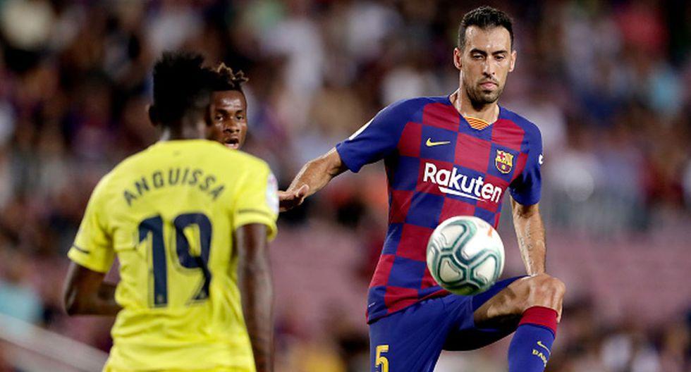 Sergio Busquets figura en la lista de convocados para el Barcelona vs Sevilla de este domingo. (Getty)