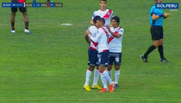 Ricardo Buitrago marcó el primero para Deportivo Municipal. (Vídeo: GOLPERU)