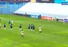 Alejandro Hohberg abrió el marcador desde el punto de penal ante San Martín [VIDEO]