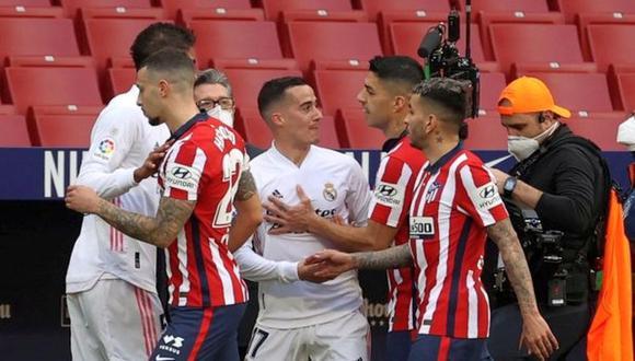 Atlético de Madrid empató 1-1 con Real Madrid. (Foto: Agencias)