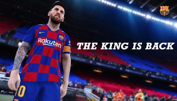 PES 2021 llegó a la la tienda virtual de Xbox y es una actualización no un juego (Video: FC Barcelona)