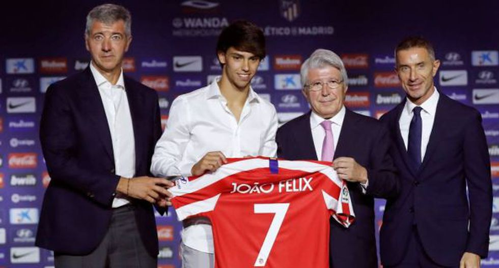 Joao Félix firmó con Atlético de Madrid hasta mediados de 2019. (Foto: Difusión)