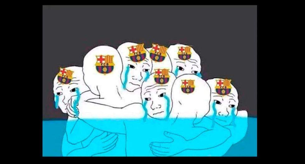 Los mejores memes de Barcelona y Real Madrid por el fin de LaLiga Santander.