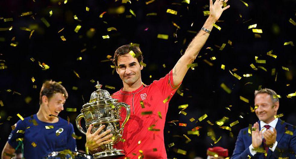 En Basilea, Roger Federer ha levantado el título en 2006, 2007, 2008, 2010, 2011, 2014, 2015, 2017, 2018 y ahora en 2019.