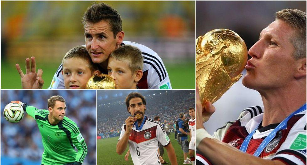 ¿Dónde están los campeones del mundo del Brasil 2014?