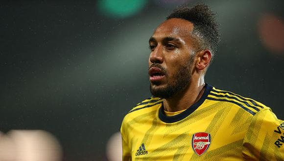 Aubameyang llegó al Arsenal en enero del 2018. (Getty)