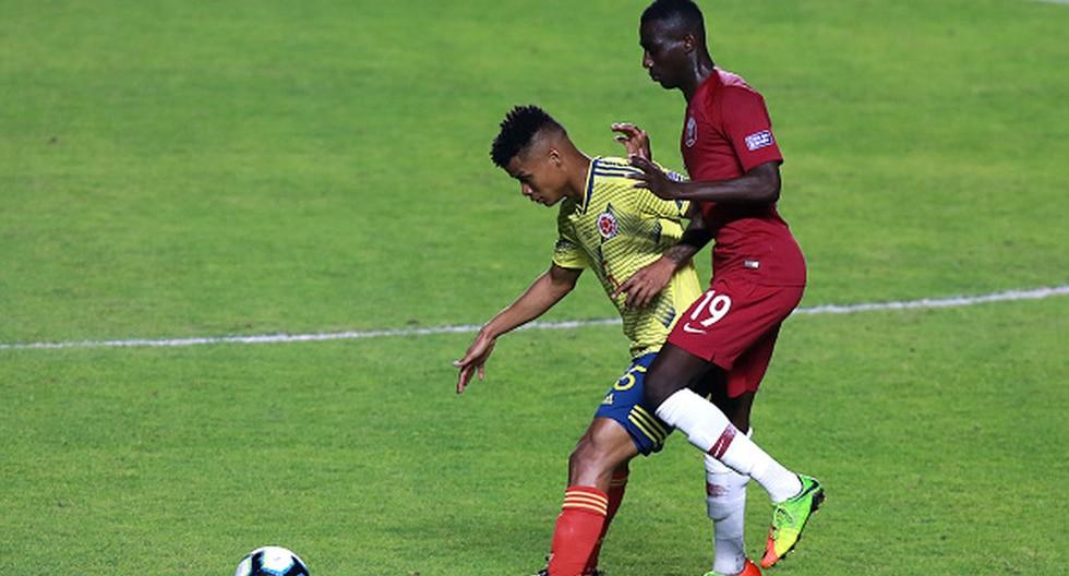Colombia vs. Qatar en el Morumbí por la Copa América Brasil 2019. (Foto: Getty)