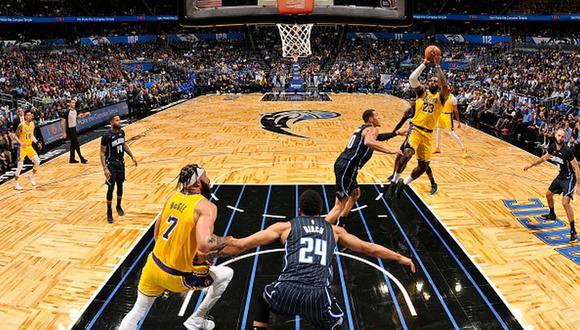 Los Angeles Lakers suman 22 victorias en la temporada regular de la NBA 2019-20. (Getty Images)