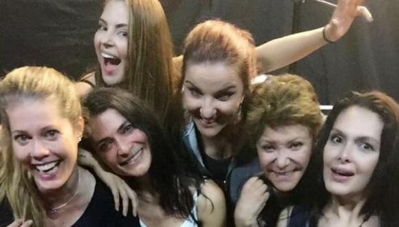 Las cámaras del programa argentino 'Versus' acompañaron a los actores en su último día de grabación y la noche de la emisión del capítulo final (Foto: Lorna Cepeda / Instagram)