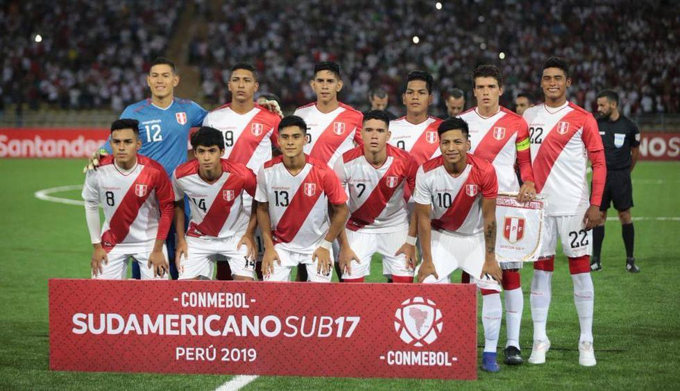 Perú vs. Chile igualan 0-0 por el Sudamericano Sub 17 en el estadio San Marcos. (Foto: @laroja)