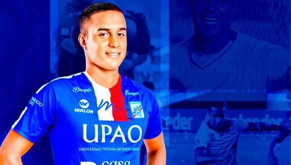 Jesús Barco es el nuevo fichaje de Carlos A. Mannucci. (Foto: Twitter)