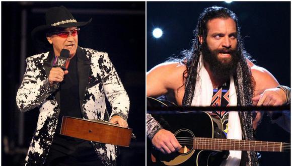 Jeff Jarrett y Elias tuvieron un corta rivalidad el año pasado. (Foto: WWE)