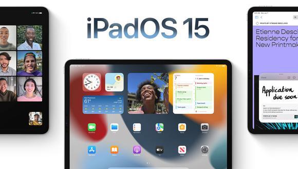 Conoce el método para poder descargar iPadOS 15 en tu tablet de Apple. (Foto: Apple)