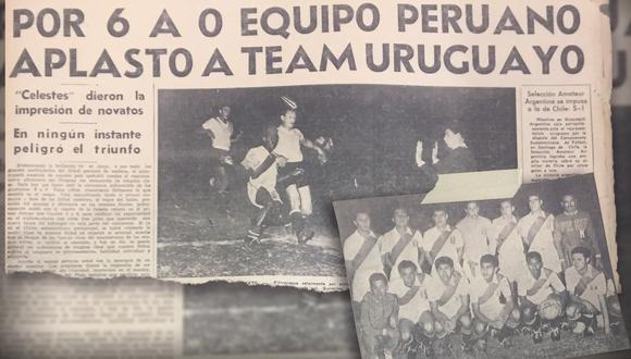 La Selección Peruana ganó cinco de seis partidos en el Preolímpico de 1960. (Diseño: Marcelo Hidalgo)