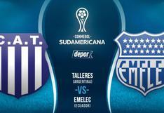 VER HOY Talleres vs. Emelec EN VIVO por Copa Sudamericana: DirecTV transmite