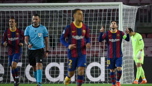 Barcelona derrotó por 2-1 a Dinamo de Kiev por Champions League. (Foto: Agencias)