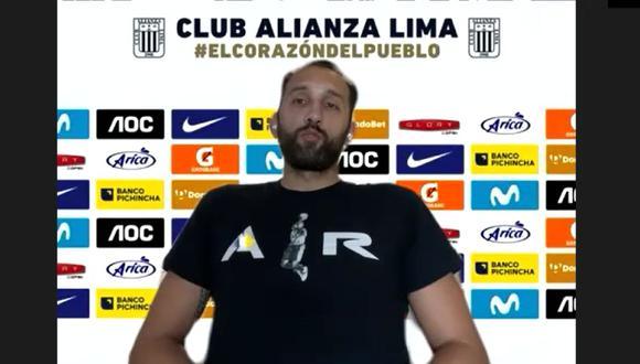Hernán Barcos fue el primer refuerzo extranjero en ser anunciado por Alianza Lima. (Foto: Alianza Lima)