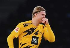 ¡Tiene un pacto con el gol! El póker de Haaland para el Borussia Dortmund vs. Hertha Berlín