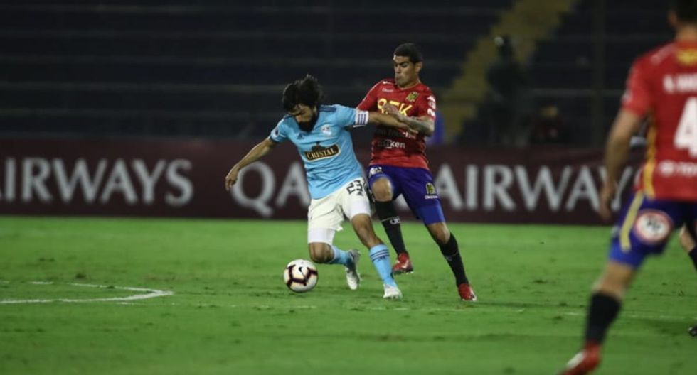 Sporting Cristal vs. Unión Española por la Copa Sudamericana. (Foto: Giancarlo Ávila / GEC)