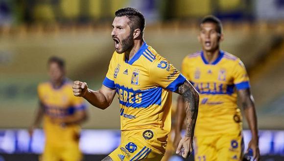 André-Pierre Gignac es una de las estrellas que hoy militan en el Tigres de la Liga MX (Foto: Twitter).