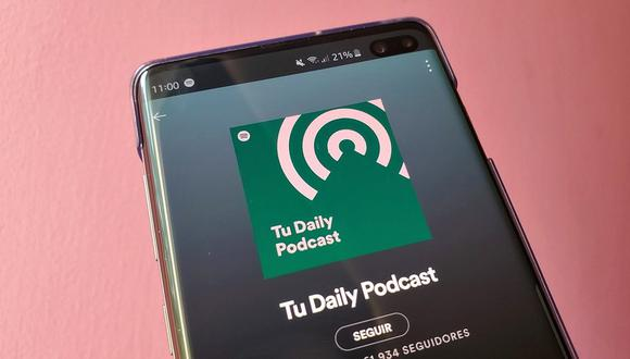 ¿Quieres subir tus podcast a Spotify? Entonces esto es lo que tienes que hacer. (Foto: Spotify)