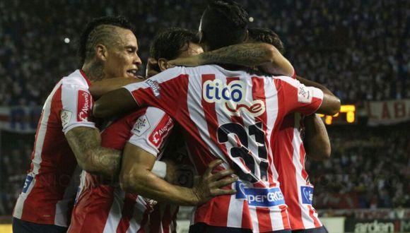 Chará fue fichado por Junior por 4,5 millones de dólares, el fichaje más caro que se ha producido en el fútbol colombiano. (Junior)