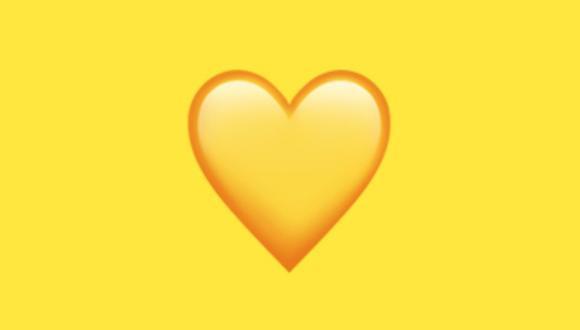 ¿Sabías que el corazón amarillo de WhatsApp no es de buena suerte? Conoce su verdadero significado. (Foto: WhatsApp)