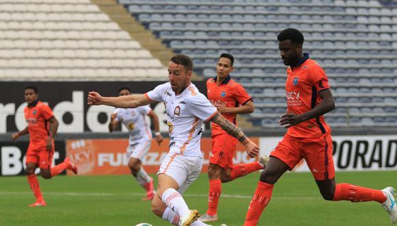Ayacucho FC enfrentó a César Vallejo por la Fecha 8 de la Fase 2. (Foto: Liga 1)