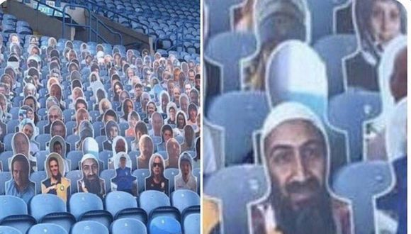 Bin Laden se coló en el estadio de Leeds United gracias a broma de un socio.