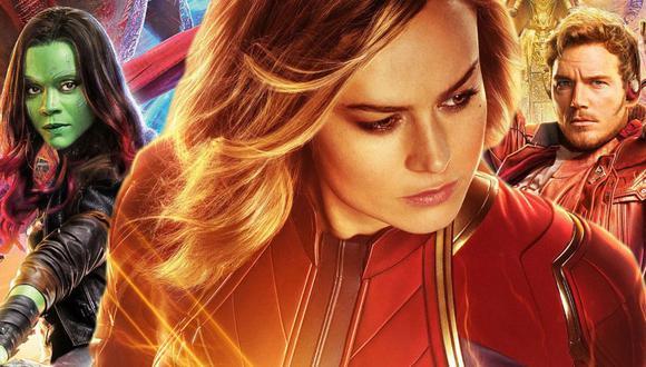 James Gunn explica por qué Capitana Marvel y los 'Guardianes' no se conocieron antes de 'Endgame' (Marvel)