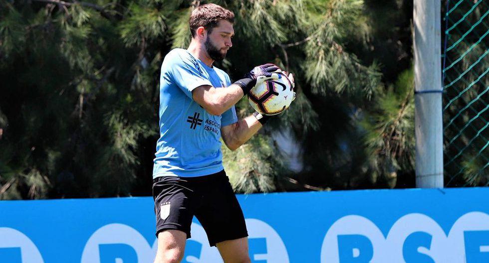 Ignacio de Arruabarrena, arquero se la Sub-23 de Uruguay, confirmó interés de Alianza Lima. (Foto: Agencias)