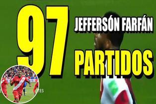 Jefferson Farfán se acerca al club de los cien