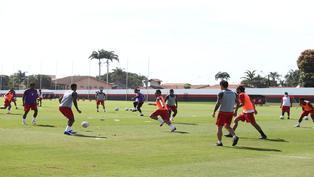 Copa América 2021: Perú durmió poco y entrenó cerca al mediodía
