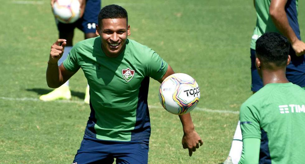 Fernando Pacheco podría sumar minutos con Fluminense este domingo. (Foto: @FluminenseFC)