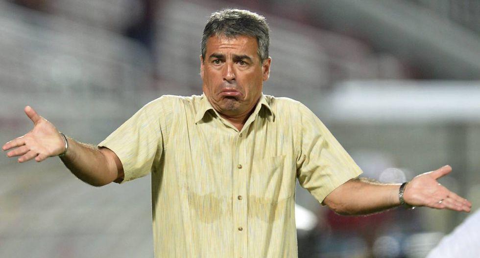 Pablo Bengoechea dirigía a la selección peruana en el 2014. (Foto: EFE)
