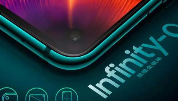 Agujero lateral del Samsung Galaxy A8s