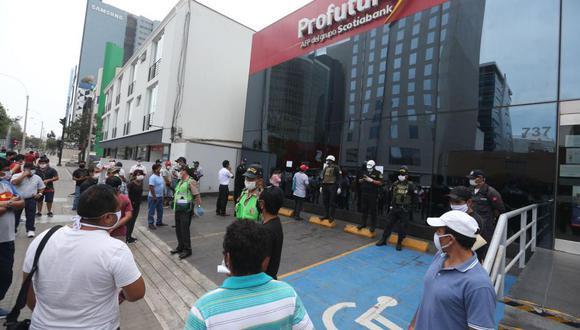 Los afiliados a las AFP podrán solicitar el retiro de hasta S/17.200 de su cuenta individual en el marco de la pandemia del COVID-19 (Foto: Andina)