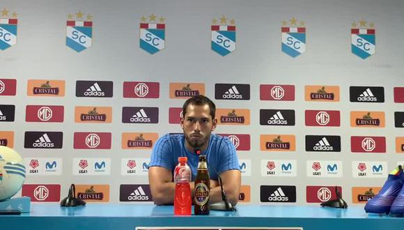 Patricio Álvarez fue separado del primer equipo de Sporting Cristal. (Foto: GEC)