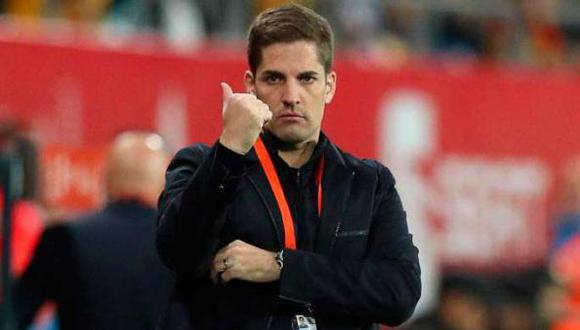 Robert Moreno y el estilo que implantará en el Granada CF, club donde milita Luis Abram. (Foto: Agencias)