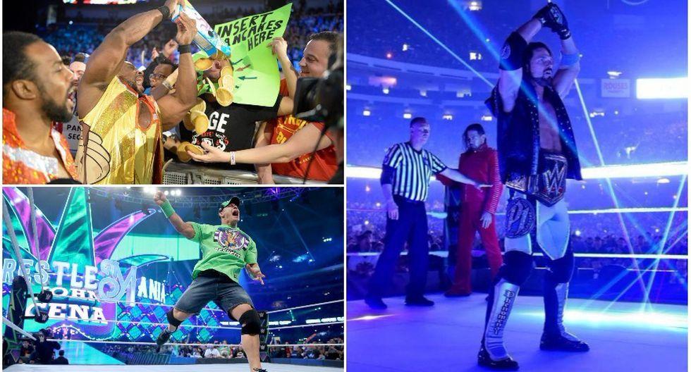 Las superestrellas que más mercancías venden en la WWE. (WWE)