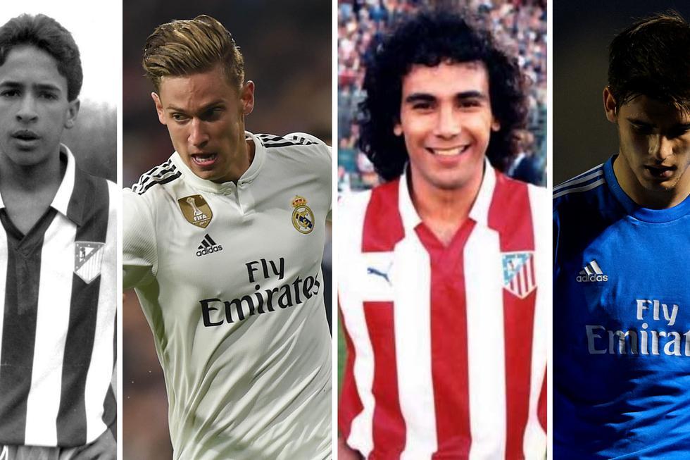 Futbolistas que jugaron en Real Madrid y Atlético (Foto: Agencias)