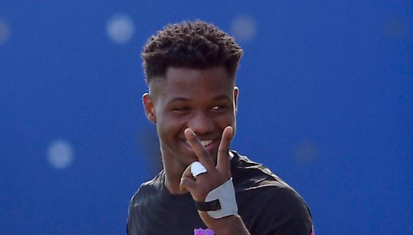 Ansu Fati es jugador del Barcelona desde la temporada 2019. (Foto: AFP).
